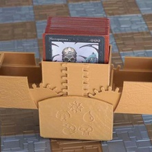 ccg geared card box v2 magnetic latch game toy game accessories storage magic gathering collectible ccg deck box ccg cards box
