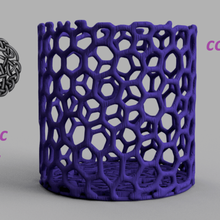 celtic knot container v2 home education school learning pen container pencil container pencil tray penholder pencil holder idealab smile christmas xmas happy love kitchen home household design voronoi keltic celtic celtic knot celtic knot container celtic knot container v2