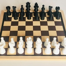 Schach Stücke Schach Tafel