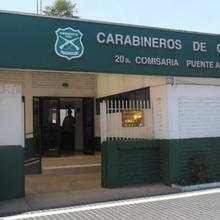 chileno policía estación 1 64 curador policía estación Chile policía estación alto puente