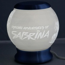 chilling adventures sabrina nightlight globe lithophane sabrina globe nightlight litho lithophane