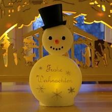 Navidad te ligero Weihnachten alegre Navidad decoración anycubic fotón feliz