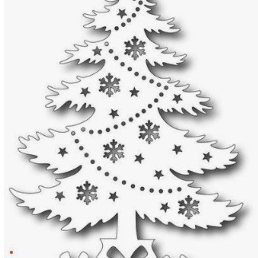 christmas tree ornament v