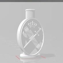 civil Guardia logo shisha narguile boquilla shisha narguile bong boquilla extrusor adaptador logo Guardia