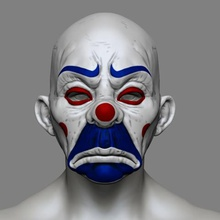 clown mask dark knight cosplay halloween stl file tool joker mask joker mask halloween halloween mask mask stl file clown mask stl file clown mask halloween clown mask print 3d clown mask cosplay clown dark knight mask clown mask 3d print clown mask print model cowl
