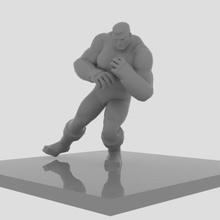 colosso luta açao figura arte personagem brinquedo colosso maravilha arte figura poli
