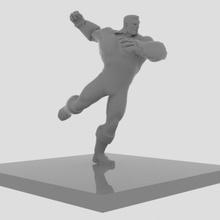 colosso luta figura arte brinquedo colosso maravilha arte figura poli