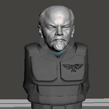 camarada Lenin 28mm cabeza guardias Guardia am ig Soviético Lenin camarada ruso imperial Guardia 40k martillo guerra cadian cadia dkok guerra martillo juego guerra ciencia ficción 28mm t rex dinosaurio