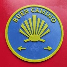 concha camino santiago cáscara logo Arte señales logos
