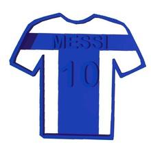 cookie - cutter - messi - shirt - t-shirt - cutter various messi t-shirt sharp cookie cookiecutter cutter shirt soccer