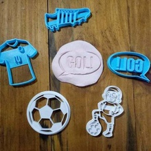 cookie cutter football soccer cortantes futbol various