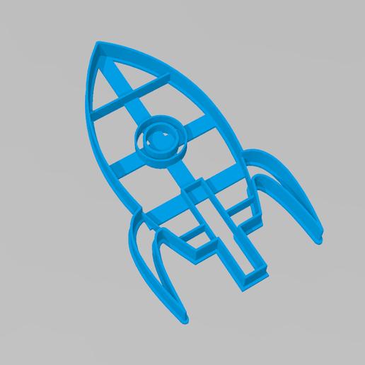 cookie cutter rocket toy
