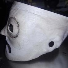 corey taylor de máscaras de slipknot corey taylor de la máscara gadget de la concha taylor slipknot la máscara