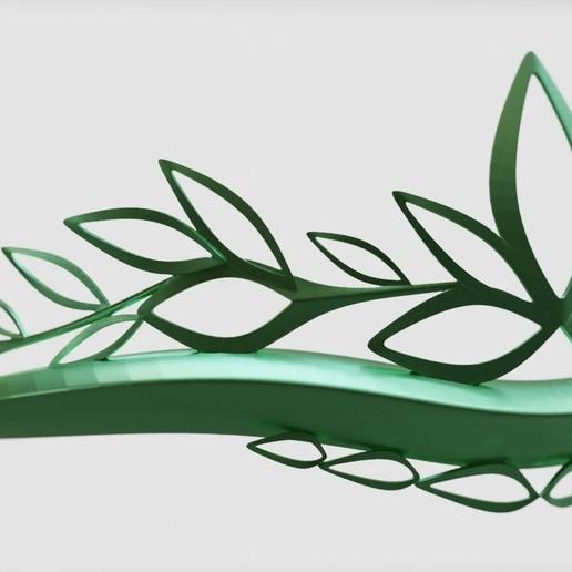 crown 3d print model art