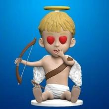 cupid valentine's day art toy art toy sculpture bust statue angel valentine's day heart miniatures cosplay home sweet boy gift decor valentine love cupids valentines romance