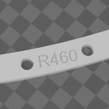 curved jig laying flexible rail r460 ho rails 1/87 train model making