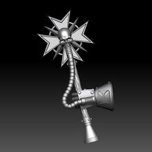 personalizado templarios crozius juego warhammer templario crozius templarios negros terminator
