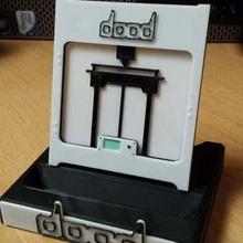 customizable mobile phone holder dood printer home dood home house mobile support t&eacute lephone household