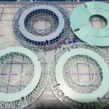 customizable sample spool tool 3d printer accessories spool sample holder sample filament spool sample filament sample