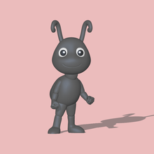 cute ant decorate play a cute ant to decorate and play ant cute cute ant sculpture miniatures 3d model cartoon figure toy other modeling decorate decorating play animal garden