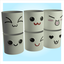 cute cylindrical pots vase decoration flowers home pot