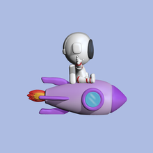 cute rocket astronaut decorate play rocket astronaut cute astronaut cute sculpture miniatures 3d model cartoon figure toy other modeling decorate decorating play astronaut in space rocket rocket in space