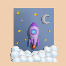cute rocket scenery decorate play rocket scenery rocket scenery cute cute rocket cute scenery rocket sculpture miniatures 3d model cartoon figure toy other modeling decorate decorating play space space rocket flying rocket ship in space cute rocket space space rocket launch
