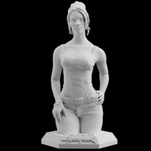 cyberpunk 2077 panam palmer download 3d print model stl files statue figure video game digital pattern 3d printing sculpture art cyberpunk 2077 panam palmer statue figure 3d print woman
