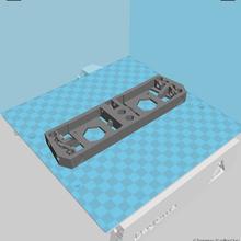dagoma discoeasy200 dual extrusion rear panel tool dagoma 3d printer discoeasy200 dual extrusion two extruder back face