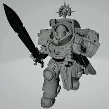 oscuro cruzado Marshall pesado armadura 40k 40k_warhammer templarios_negros capitán gravis primaris warhammer40k warhammer_40k wh40k