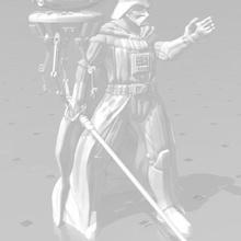 darth vader probe droid game droid probe droid darth vader dark vader modelism game figurines starwars legion star wars
