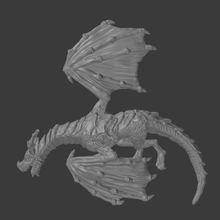 dead dragon tabletop terrain roleplay pathfinder dungeons and dragons games miniatures 28mm