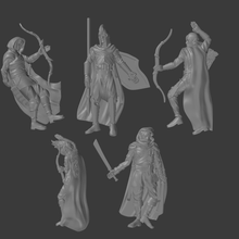 dead elves tabletop terrain roleplay pathfinder dungeons and dragons games miniatures 28mm