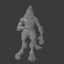 dead werewolf tabletop terrain roleplay pathfinder dungeons and dragons games miniatures 28mm