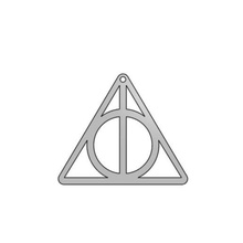 deathly hallows keychain pendant jewelry jewelry keychain pendant harry potter harry potter keychain harry potter pendant deathly hallows deathly hallows pendant deathly hallows keychain  simple easy small tiny  harr potter 3d printing ideas 3d printing ideas simple 3d printing ideas gift gifts gift idea gift ideas 3d printed gift small 3d printing cheap smart cool harry potter fan necklace