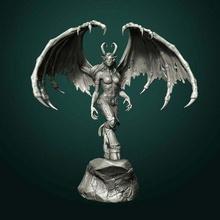 iblis avcı Warcraft 3dmodel 3dprintable masa oyunu dd iblis iblis avcı dnd minyatür fanart heykelcik oyun kız cin minyatür rpg heykel stl masaüstü masaüstü oyun masaüstü
