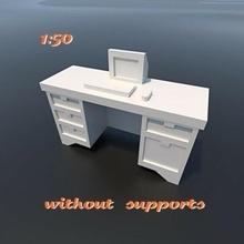 escritorio echelle iluminado maqueta escala diorama modelo 1 50 escritorio oficina