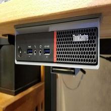 desk slide mount lenovo m700 m93p tiny pc step file desk ikea gerton lenovo lenovo m700 m700 m93p mount pc mount step stp under desk computer