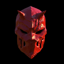 devil mask mask omsx 3d 3dprint chenise toy art collectible ornamental movie party devil