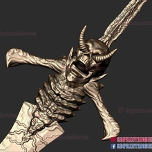 devil may cry rebellion sword 3d print model game devil devil may cry devil may cry rebellion sword rebellion sword sword weapon cosplay weapon costume halloween halloween cosplay armor demon human dragons monster horror game toy
