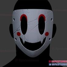 devil sniper mask cosplay sniper sniper mask cosplay costum figures costum figure anime game toys monster dragon face helmet halloween japanese kitsune halloween cosplay mask high rise invasion