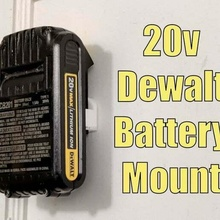 dewalt 20v battery wall mount holder - 20 volt lithium ion battery holder dewalt dewalt 20v dewalt 20v battery dewalt drill tool_holders_boxes