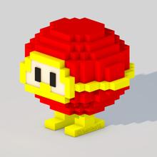 dig dug - red monster art dig dug retro nes nintendo video game