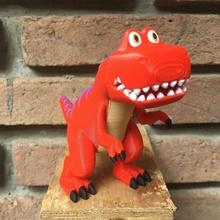 dino t-rex pinkfong stand t rex dinosaur dino pinkfong cartoon animal toy