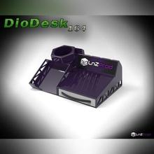 diodesk 164 mini diorama desktop mini diorama attrezzo titolare supporto flashfortews scrivania modulo Casa Camera letto camera alloggi calibratore sd gomma ufficio diorama macchina tavolo scena concorrenza