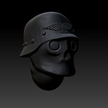 punk diesel casque 28mm Wolfenstein marteau guerre marteau guerre 40000 scions impérial garde
