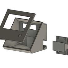 display cover ender 3 ender 3 creality display display cover display holder upgrade printer upgrade ender 3 upgrade