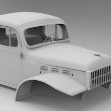 dodge power wagon rc car hard body 3d model tool rc4wd 3dmodel dodge rc car axial dodge power power wagon
