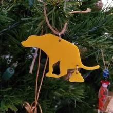 perro 2020 ornamento perro COVID 19 natividad fiestas ornamento Navidad árbol Navidad 2020
