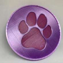 doggy paw drink coaster tool coaster dog dog paw drink coaster paw paw coaster pet drink coaster 3d printing